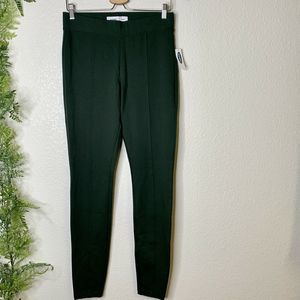 NWT Old Navy Stevie Ponte Pants Green Size M Tall